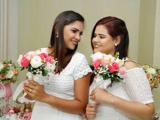 O casamento de Michele e Nadma