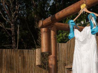 O casamento de Érica e Luan