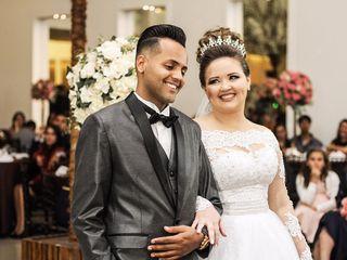 O casamento de Larissa e Wesley