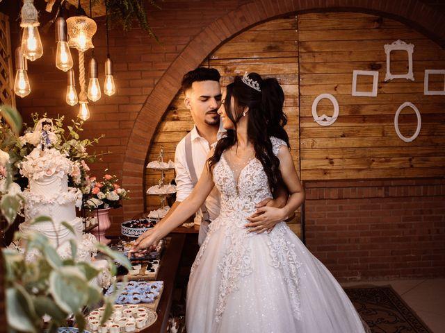O casamento de Isaque e Rachel em Santa Cruz da Serra, Rio de Janeiro 1