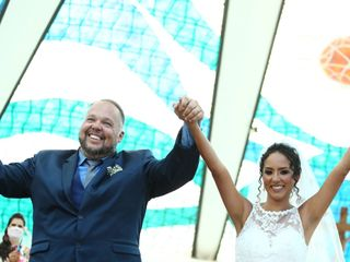 O casamento de Lígia e Alan