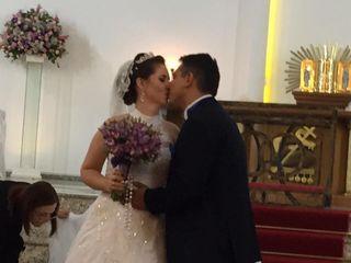 O casamento de Caroline e André