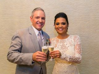 O casamento de Luana e Evandro