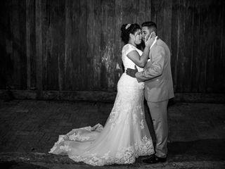O casamento de Victoria e Isaac