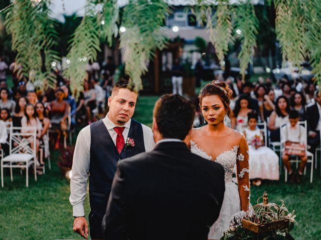 O casamento de Gisele e Alisson