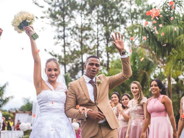 O casamento de Karol e Fernando