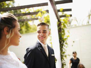 O casamento de Isabella  e Natan