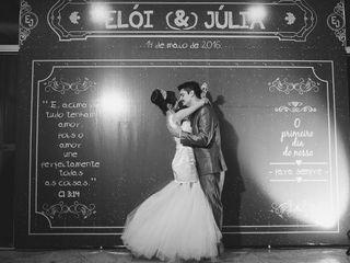 O casamento de Júlia e Elói