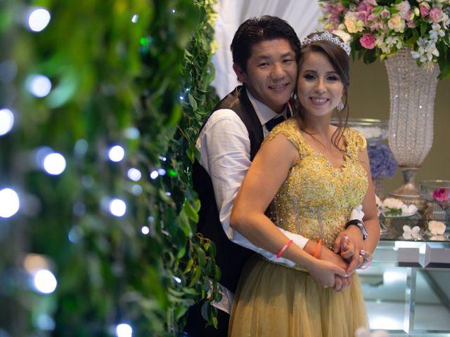 O casamento de Isabela e Kojiro