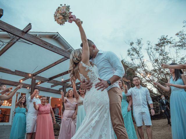O casamento de Gisele e Guilherme