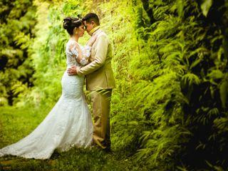 O casamento de Rubem e Raquel