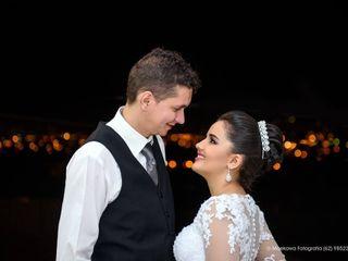 O casamento de ketley e Elionei