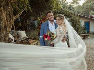 O casamento de Saymon e Amanda