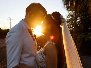 O casamento de Tingni Hu e Thiago