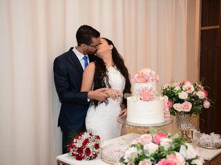 O casamento de Késia  e Tarcísio