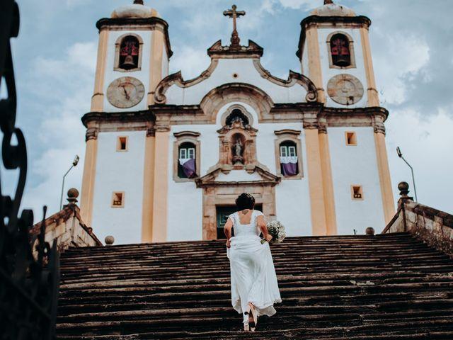 O casamento de Evandro e Sabrina em Ouro Preto, Minas Gerais 42