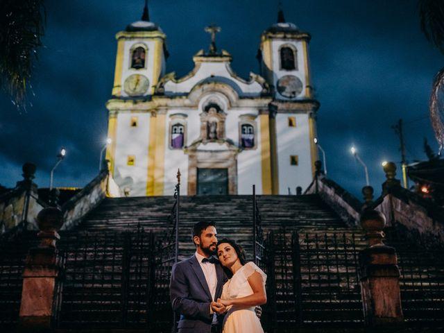 O casamento de Evandro e Sabrina em Ouro Preto, Minas Gerais 2