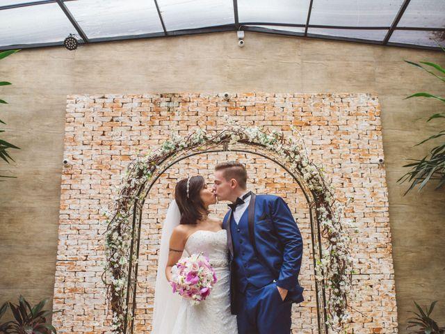 O casamento de Iris e Artur