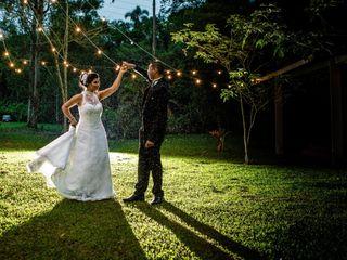 O casamento de Sandra e Junior