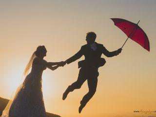 O casamento de Valéria e Marcone
