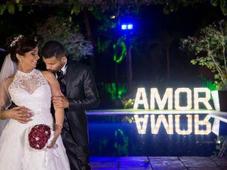 O casamento de Tatiana e Ronaldo
