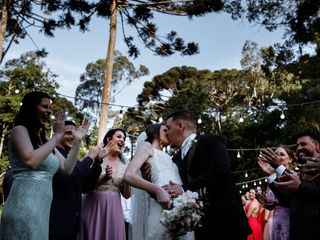 O casamento de Elisa e Willian