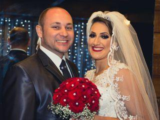 O casamento de Adiane e Evandro