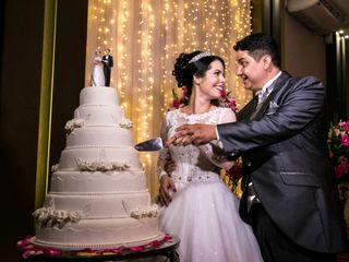 O casamento de Renilla e Israel