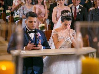 O casamento de Caroline e Rodrigo