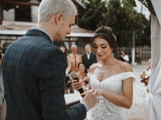 O casamento de Nicole e Maxime