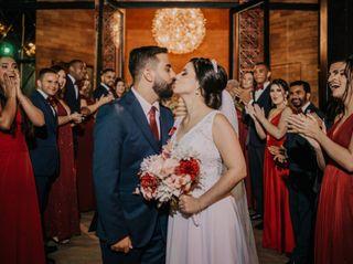 O casamento de Pamela e Henrique