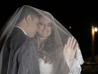 O casamento de Denise e Cleverson