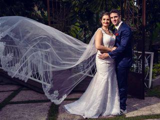 O casamento de Flavia e Leandro
