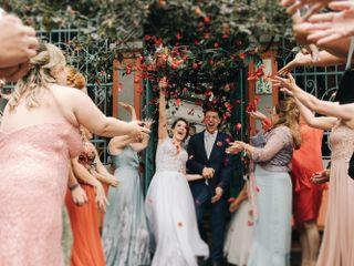 O casamento de Livia e Victor