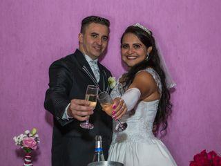 O casamento de Luciana e Leandro