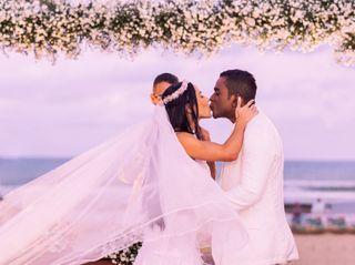 O casamento de Caiaque e Rafaela