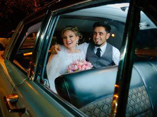 O casamento de Claudine e Ricardo