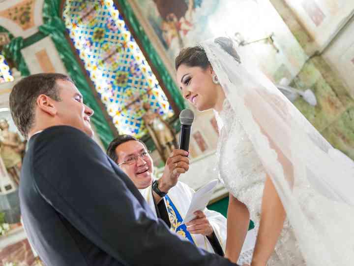 O casamento de Bianca e Dano