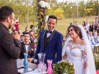 O casamento de Polyana  e Bruno
