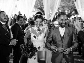 O casamento de Melina e Edward