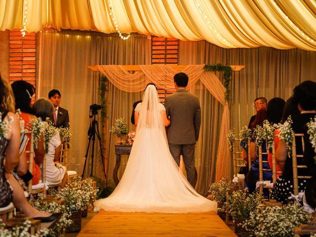 O casamento de Vivian e Nicolas