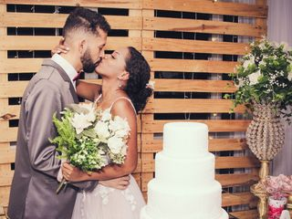 O casamento de Letycia e Vagner