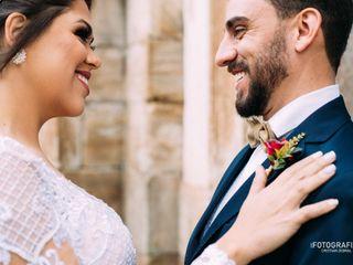 O casamento de Brenda e Frederico