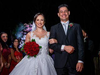 O casamento de Andréa e Fabiano