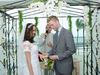 O casamento de Sabrina e Christopher