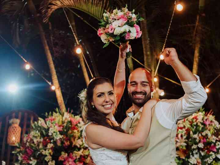 O casamento de Thalissa e Rossi