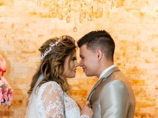 O casamento de Edna e Rafael