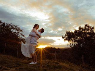 O casamento de Andressa e Taylor