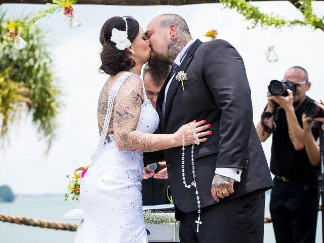 O casamento de Vera e Bruno