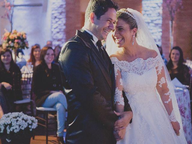 O casamento de Viviane e Valdir